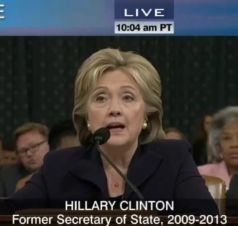 Congress Questions Clinton On Benghazi