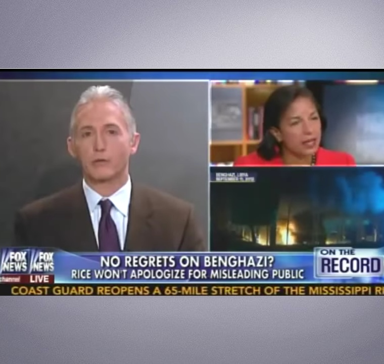 No Regrets On Benghazi? Rice Won't Apologize For Misleading Public. Interview by Fox News, On The Record.