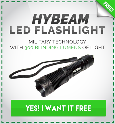 Get Your Free HyBeam Flashlight