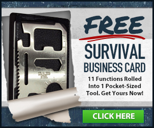 Get Your Free Survival Business Card