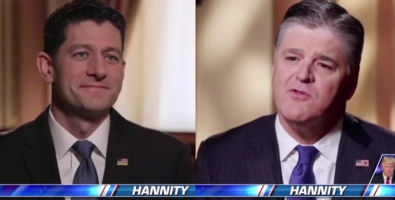 Body Language: Paul Ryan And Sean Hannity